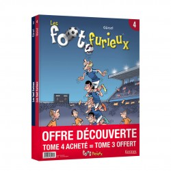 Les Foot Furieux Pack ©Kennes Editions
